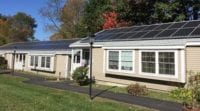 Maple manor Senior Living Apartments rooftop solar PV