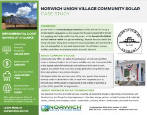 Norwich Union Village Community Solar PDF