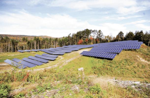 Nst Solar Field St. Johnsbury